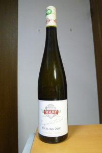 ルネミューレリースリングシニャチュール2011ボトル