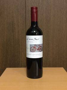 コノスルカベルネソーヴィニヨンヴァラエタル2016ボトル