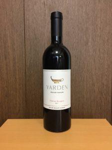 ヤルデンカベルネソーヴィニヨン2011ボトル