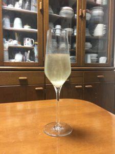 トップバリュリゴルエクセレンシアブリュットグラス