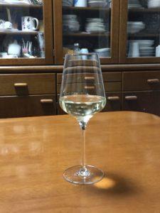 下北ワインサラアサンマモルワイナリー2015グラス