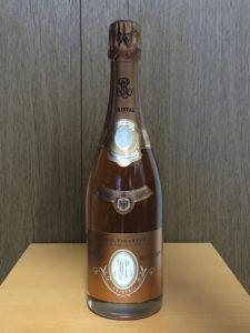 ルイ・ロデレール ・クリスタル・ロゼ2009ボトル