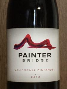 ペインターブリッジカリフォルニアジンファンデル2012エチケット