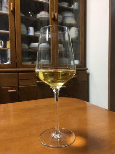 くずまきワインフォーレ白グラス