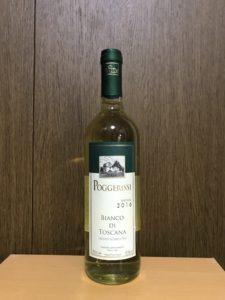 ポジェリッシビアンコディトスカーナ2016ボトル