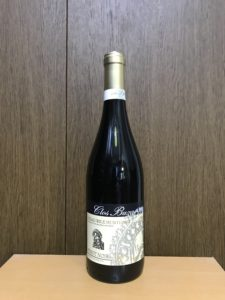 クロビュザオデアルリレムンテニエイピノノワールリザーブ2017ボトル