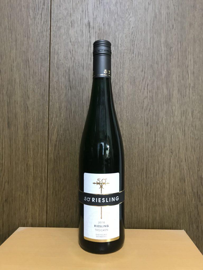 フィフティデグリーリースリングトロッケンゲーハーフォンマム2018ボトル