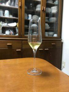 ケスラーツィンクシルヴァーナーアイスヴァイン2018QmPアイスヴァインラインヘッセングラスフルートグラス