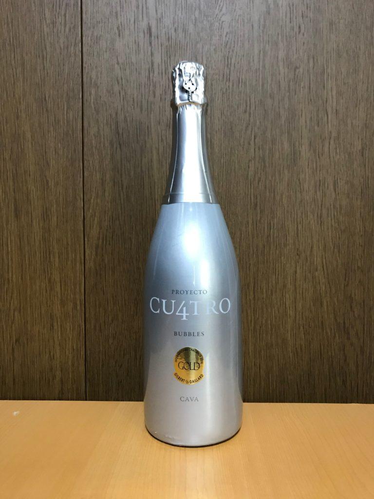 クロモンブランプロジェクトクワトロカバブリュットNVボトル