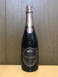 ロジャーグラートカバロゼブリュット2017ボトル