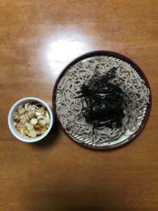 ロジャーグラートカバロゼブリュット2017withざる蕎麦